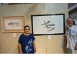 prints presented in the exhibition of higashimatsuyama sept 2014